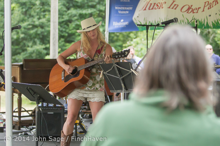 3304 Allison Shirk Band Ober Park Sunday 072014