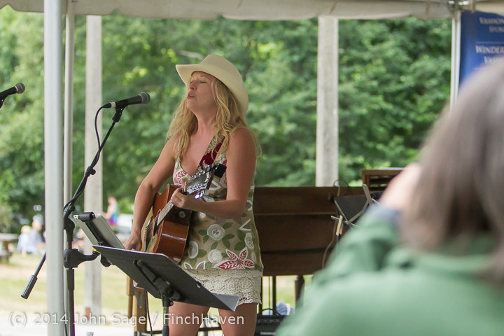 3305 Allison Shirk Band Ober Park Sunday 072014