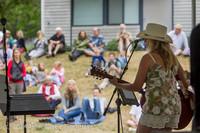3317 Allison Shirk Band Ober Park Sunday 072014