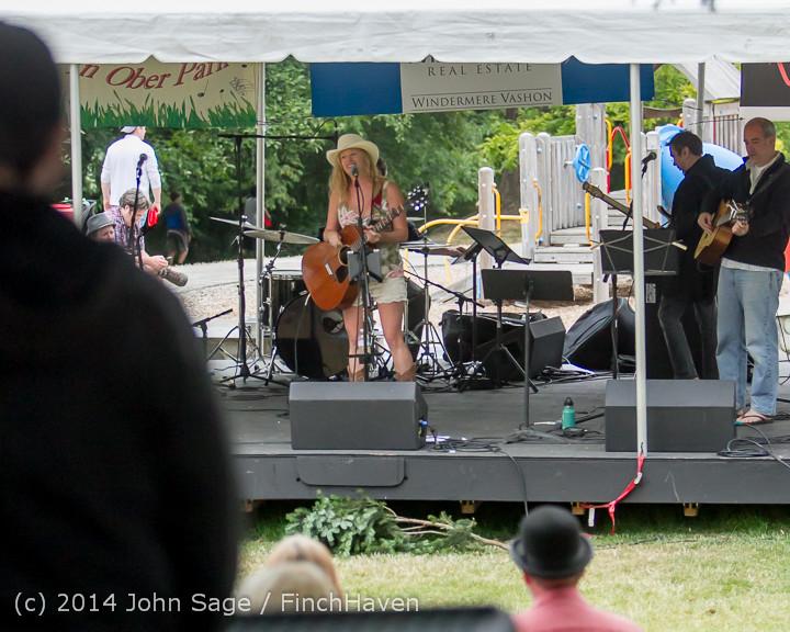 3318 Allison Shirk Band Ober Park Sunday 072014