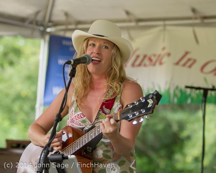 3452 Allison Shirk Band Ober Park Sunday 072014