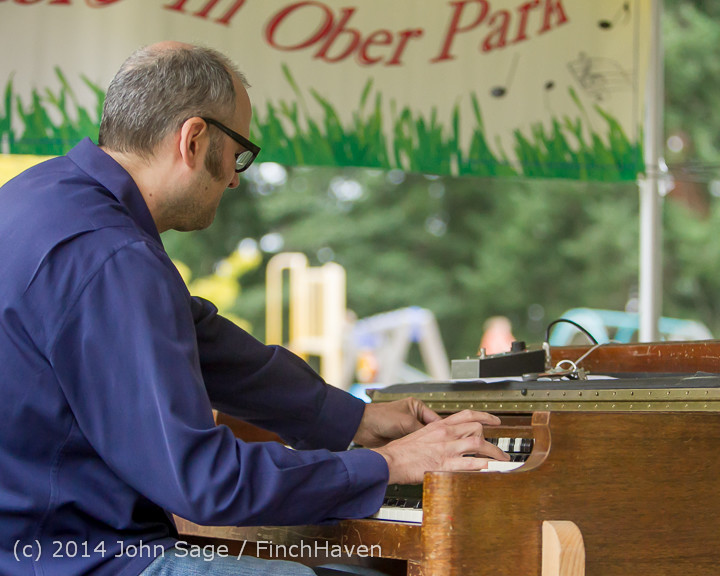 3485 Allison Shirk Band Ober Park Sunday 072014