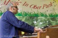 3487 Allison Shirk Band Ober Park Sunday 072014