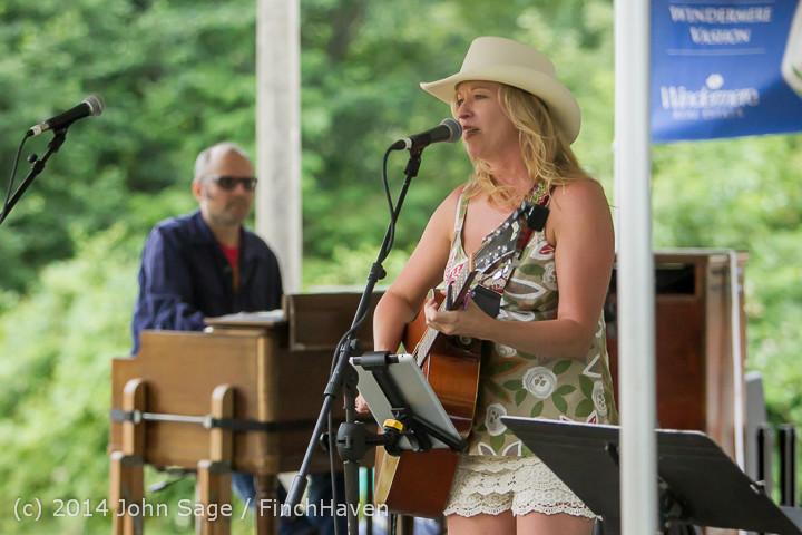 3498 Allison Shirk Band Ober Park Sunday 072014