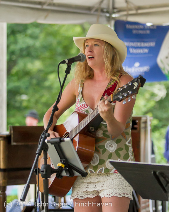 3572 Allison Shirk Band Ober Park Sunday 072014