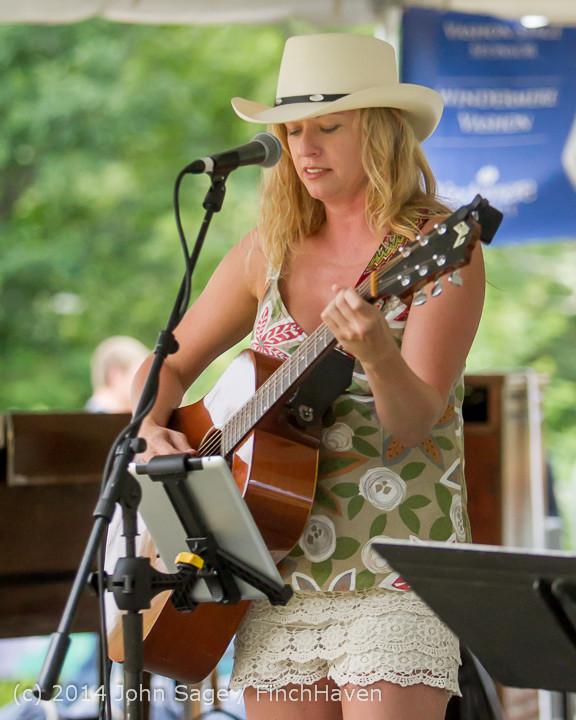 3577 Allison Shirk Band Ober Park Sunday 072014