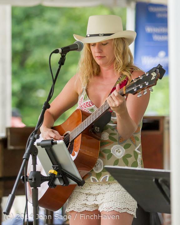 3588 Allison Shirk Band Ober Park Sunday 072014