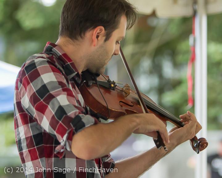 3606 Allison Shirk Band Ober Park Sunday 072014