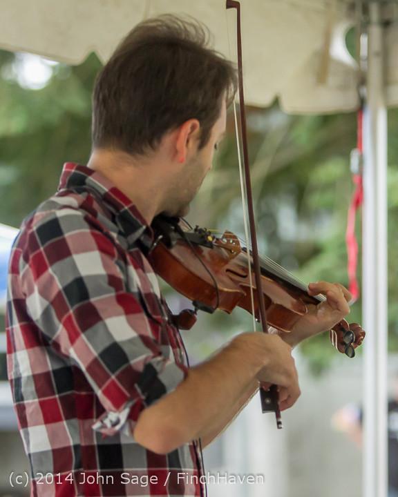 3614 Allison Shirk Band Ober Park Sunday 072014