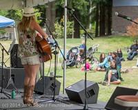 3632 Allison Shirk Band Ober Park Sunday 072014