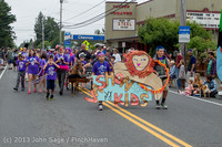 5349 Vashon Strawberry Festival Grand Parade 2013 072013