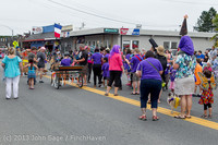 5372 Vashon Strawberry Festival Grand Parade 2013 072013