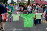5381 Vashon Strawberry Festival Grand Parade 2013 072013