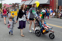 5423 Vashon Strawberry Festival Grand Parade 2013 072013