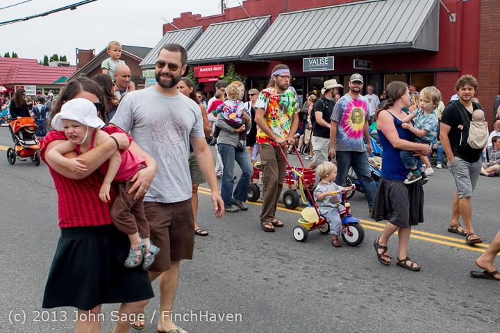 5433 Vashon Strawberry Festival Grand Parade 2013 072013