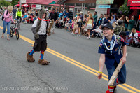 5436 Vashon Strawberry Festival Grand Parade 2013 072013