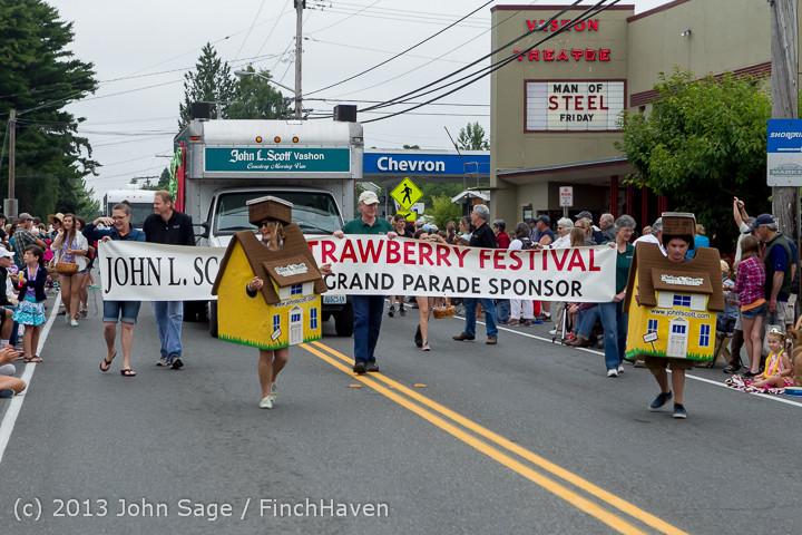 5509 Vashon Strawberry Festival Grand Parade 2013 072013