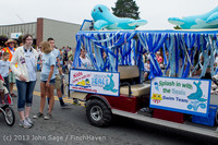 5754 Vashon Strawberry Festival Grand Parade 2013 072013