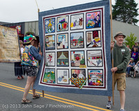 5758 Vashon Strawberry Festival Grand Parade 2013 072013