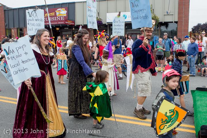 5789 Vashon Strawberry Festival Grand Parade 2013 072013