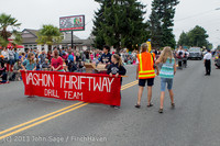 5805 Vashon Strawberry Festival Grand Parade 2013 072013