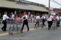 5833 Vashon Strawberry Festival Grand Parade 2013 072013