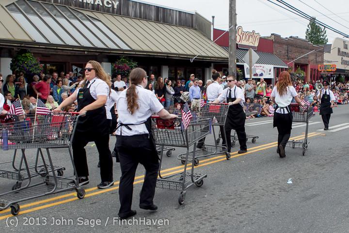 5838 Vashon Strawberry Festival Grand Parade 2013 072013