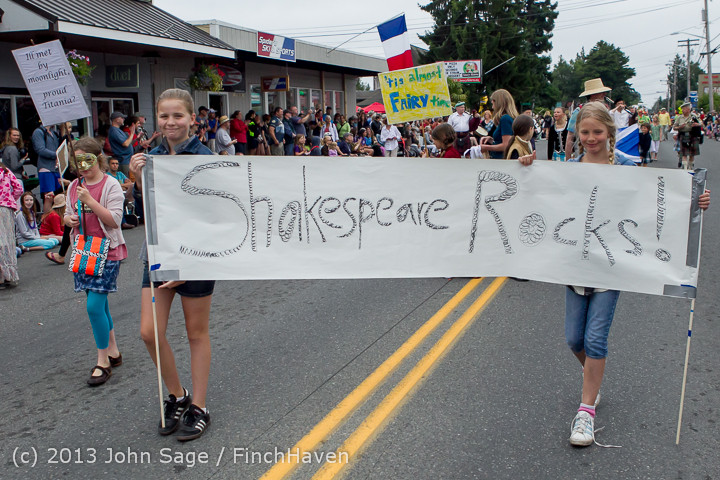 5861 Vashon Strawberry Festival Grand Parade 2013 072013