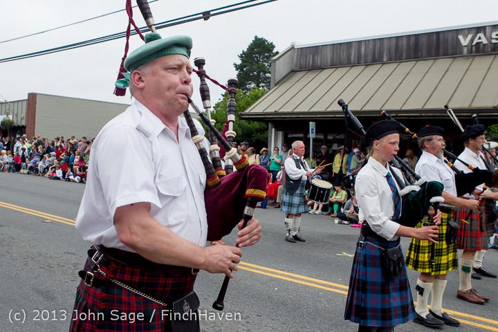 5883 Vashon Strawberry Festival Grand Parade 2013 072013