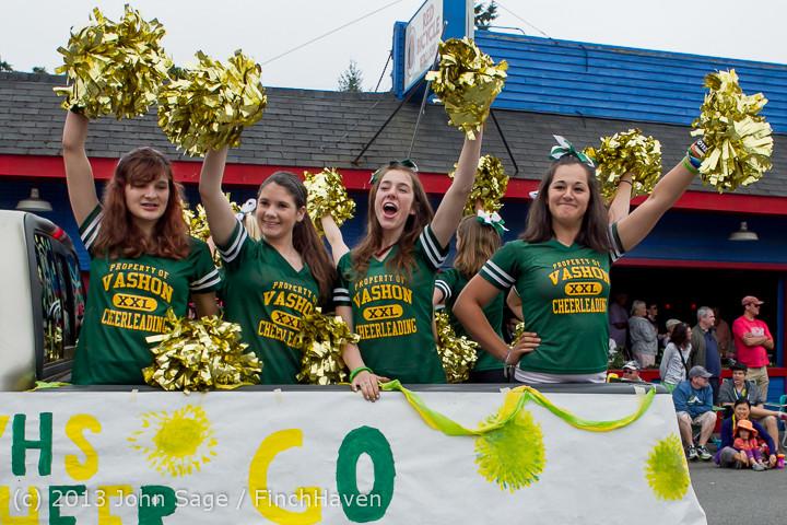 5927 Vashon Strawberry Festival Grand Parade 2013 072013