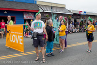 6000 Vashon Strawberry Festival Grand Parade 2013 072013