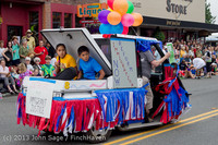 6022 Vashon Strawberry Festival Grand Parade 2013 072013