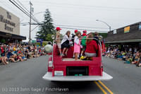 6044 Vashon Strawberry Festival Grand Parade 2013 072013