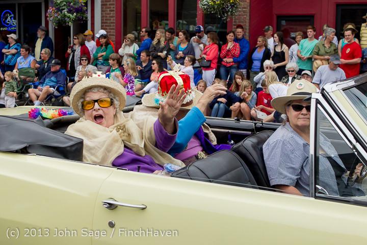 6057 Vashon Strawberry Festival Grand Parade 2013 072013