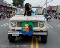 6066 Vashon Strawberry Festival Grand Parade 2013 072013
