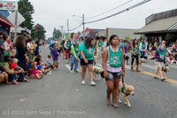 6079 Vashon Strawberry Festival Grand Parade 2013 072013