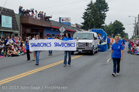 6159 Vashon Strawberry Festival Grand Parade 2013 072013
