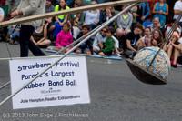 6294 Vashon Strawberry Festival Grand Parade 2013 072013