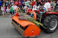 6354 Vashon Strawberry Festival Grand Parade 2013 072013
