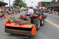 6358 Vashon Strawberry Festival Grand Parade 2013 072013