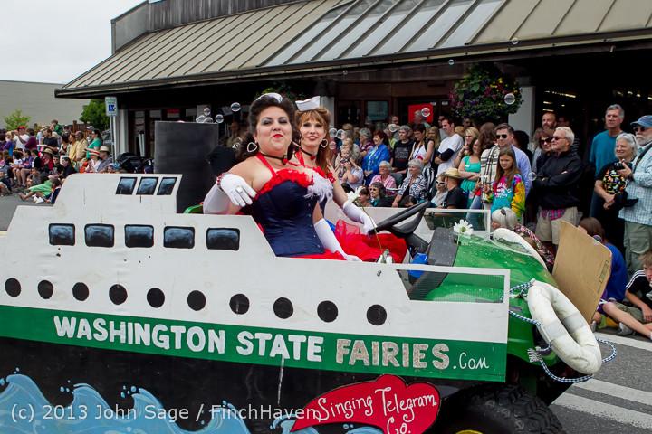 6411 Vashon Strawberry Festival Grand Parade 2013 072013