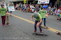 6459 Vashon Strawberry Festival Grand Parade 2013 072013