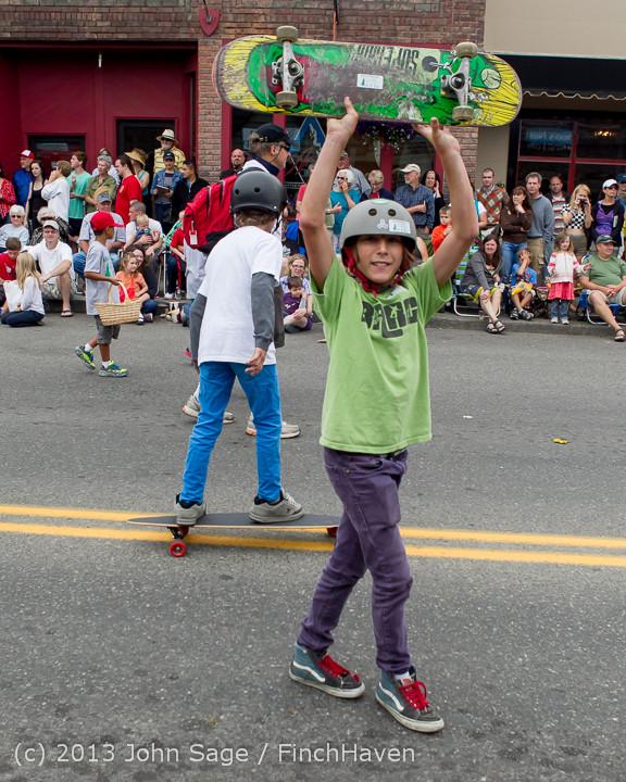 6461 Vashon Strawberry Festival Grand Parade 2013 072013