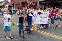 6552 Vashon Strawberry Festival Grand Parade 2013 072013