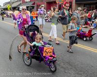 6555 Vashon Strawberry Festival Grand Parade 2013 072013