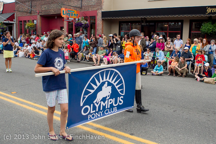 6558 Vashon Strawberry Festival Grand Parade 2013 072013