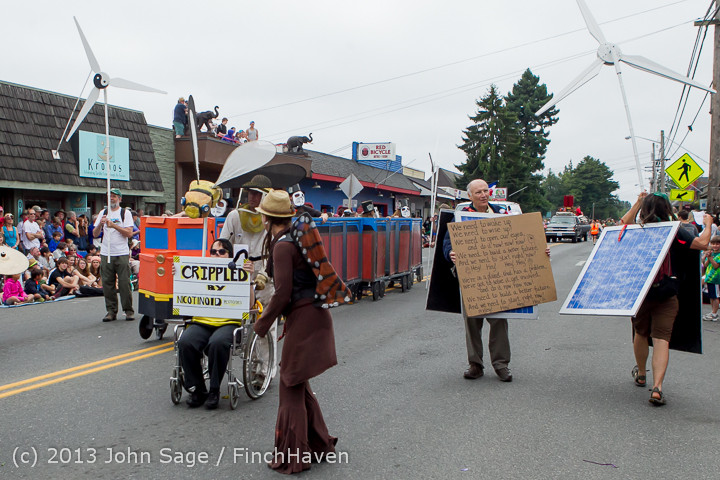 6604 Vashon Strawberry Festival Grand Parade 2013 072013