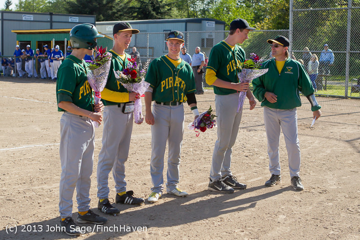 8490 Baseball v Life-Chr Seniors Night 050113