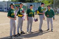 8493 Baseball v Life-Chr Seniors Night 050113