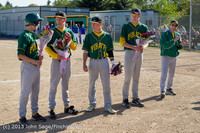 8509 Baseball v Life-Chr Seniors Night 050113